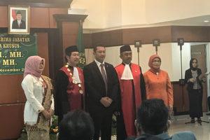Pelantikan Ketua Pengadilan Negeri JakSel