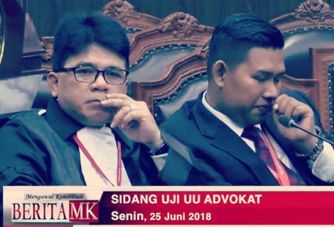 Uji Materi Undang-undang Advokat