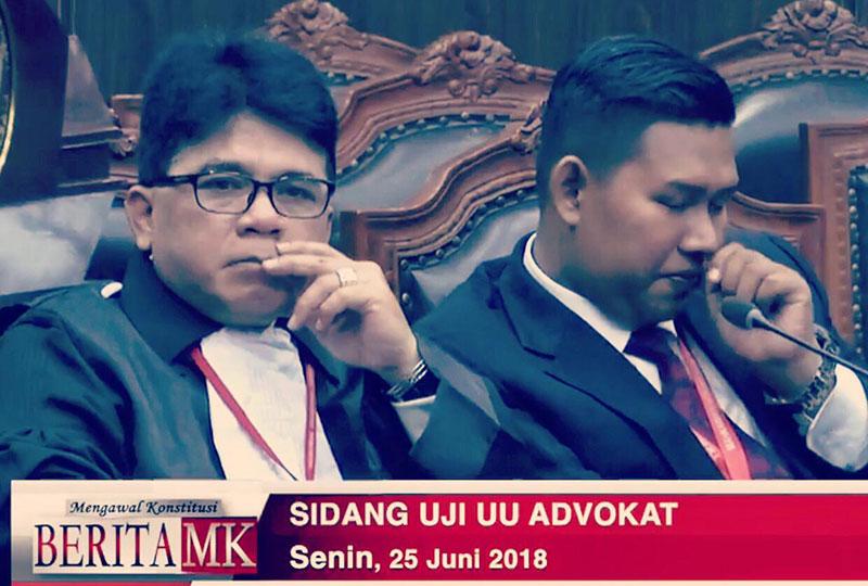 Pemohon Uji Materi Undang-undang Advokat