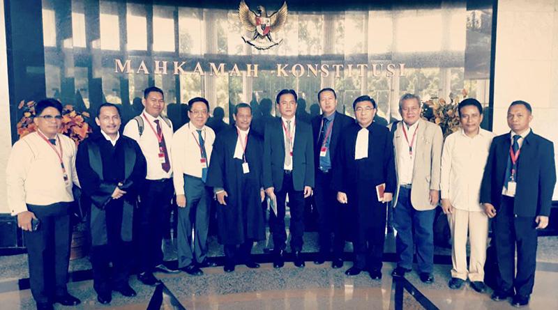 Pengujian Materi Undang-undang Nomor 18 Tahun 2003 Tentang Advokat